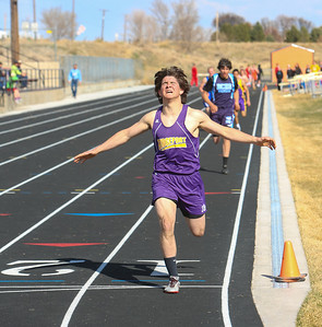 Bridgeport's Brandon Nichols finished third in the 1600.