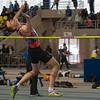 Timothy Hubert (2,01 M) - Vierde in het hoogspringen - Belgisch Kampieonschap Indoor Alle Categorieën - BLOSO Topsporthal - De Blaarmeersen - Gent
