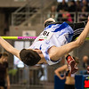 Bart Versmissen (2,01 M) - Brons in het hoogspringen - Belgisch Kampieonschap Indoor Alle Categorieën - BLOSO Topsporthal - De Blaarmeersen - Gent