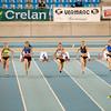 Start - Reeks # 1 van de 60 M vlak  - BK Indoor Alle Categorieën - BLOSO Topsporthal - De Blaarmeersen - Gent