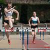 Céline Delheye (FLAC Izegem) op de 400 M Horden @ Belgisch Kampioenschap Studenten - Stade La Mosane - Jambes - Namen