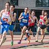Doortocht 800 M heren @ Belgisch Kampioenschap Atletiek voor studenten - Stade La Mosane - Jambes - Namen