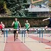 Winst voor Romain Nicodème (Excelsior Brussel) op de 400 M Horden @ Belgisch Kampioenschap Studenten - Stade La Mosane - Jambes - Namen