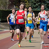 Winst voor Yngwie Vanhoucke (FLAC Ieper/VIVES Torhout) op de 800 M voor heren @ Belgisch Kampioenschap Atletiek voor studenten - Stade La Mosane - Jambes - Namen