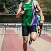 Zilver voor Giovanni Pieters (AC Meetjesland) op de 400 M Horden @ Belgisch Kampioenschap Studenten - Stade La Mosane - Jambes - Namen
