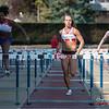 Chloë Beaucarne op de 100 M horden voor dames @ Belgisch Kampioenschap Atletiek voor studenten - Stade La Mosane - Jambes - Namen
