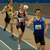 Podium 800 M : Arnaud Ghislain, Hans Omey & Gieljan Baete