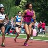 Alison Diwani & Nafi Thiam in de reeksen 100 M op het Belgisch Kampioenschap voor Studenten