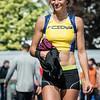 Caroline Ego na de finale 100 M