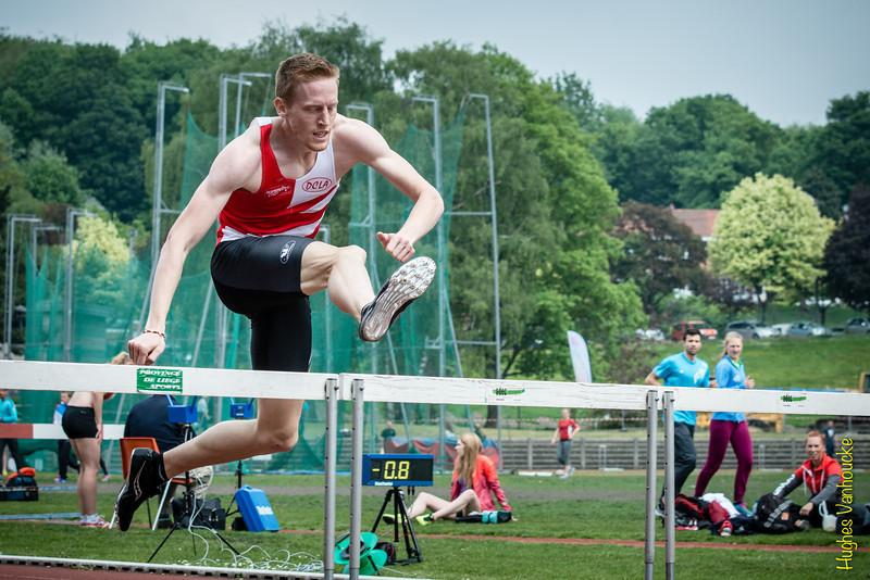 Tim Rummens springt naar de Belgische titel op de 400 M horden