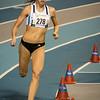 Belgisch kampioene Renee Eykens op 800 M juniores