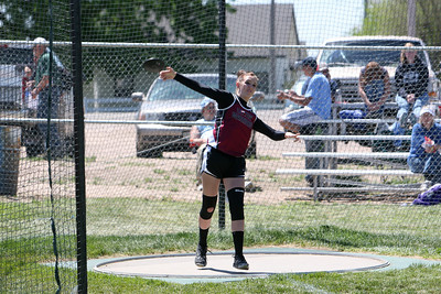 Leyton's Dani McKay takes second in discus
