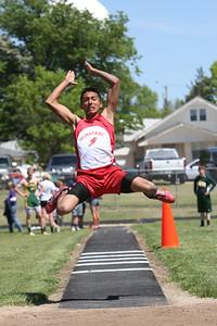 Minatare's Andres Mendoza boys triple jump