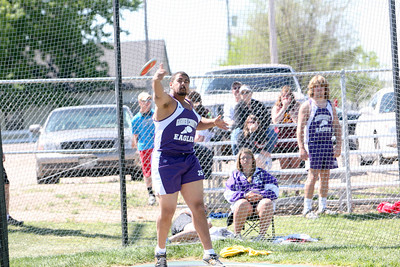 Garden County's Frantzlee LaCrete wins boys discus -
