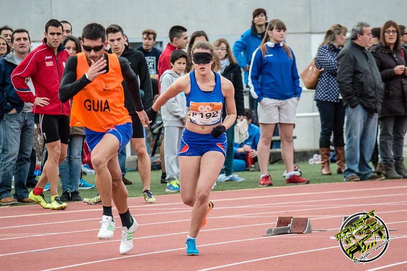 Lía Beel Quintana, atleta con retinosis pigmentaría - 400 M - Consejo Superior de Deportes - Madrid - España