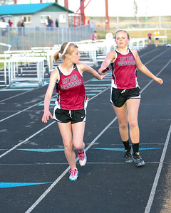 Leyton's Megan Flessner 4 x 800 relay hands off to ?