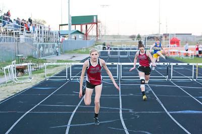 Leyton's Shaela Jenkins winsl 300 meter hurdles