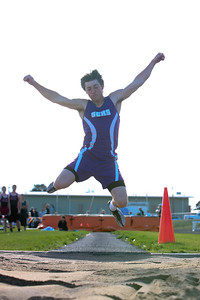 Sioux County's Sean Grote win the Long Jump 19.7
