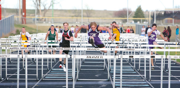 Garden County's Kane McLaughlin wins 110 meter hurdles