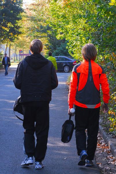 Lars Oosterlinck & Yngwie Vanhoucke @ Lotto Cross Cup Relays Gent 2011