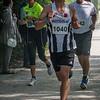 Kevin Brysbaert (FLAC) uit Westvleteren in zijn eerste ronde op de 14 Km