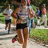 Helga Verkruysse uit Watou op de 7 Km.