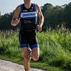 Stefaan Stockman uit Kortrijk werd tweede op de Mannen +35 op de 14 Km