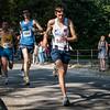 Thomas Vandamme (# 587) uit Kemmel op de 7 Km