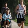 Kevin Brysbaert (FLAC) uit Westvleteren als winnaar van de 14 Km