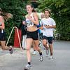 Fleur Vandamme (# 224), Shaeny Vandemoortele (# 159) & Simoen Adriaan (# 015) op de 5 Km