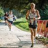 Lars Oosterlinck (FLAC Ieper) uit Brielen op de 7 Km.