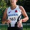 Chantal Mulleman (FLAC Ieper) als eerste bij de vrouwen 55+ op de 7 Km
