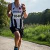 De winnaar van de 14 Km: Kevin Brysbaert uit Westvleteren