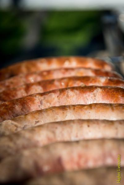 150 stuks op de BBQ - Einde Vakantiemeeting - FLAC Ieper - Ieper