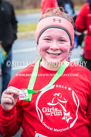 Girls On The Run 5k - 06 Dec 2014