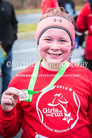 Girls On The Run 5k - 06 Dec 2014