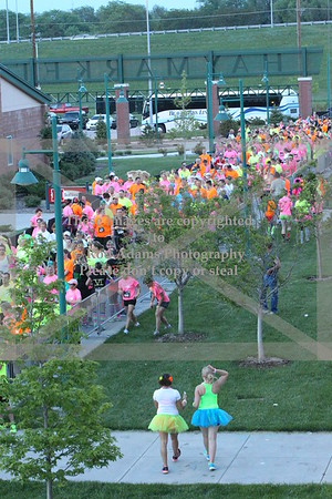 Glow Run 5K May 25, 2013 Haymarket Park