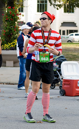 Found him! There were a few Waldos at this race...
