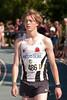 Yngwie Vanhoucke hopend op een sterke 800 M - Grote Prijs Stad Lokeren - Oost-Vlaanderen - België