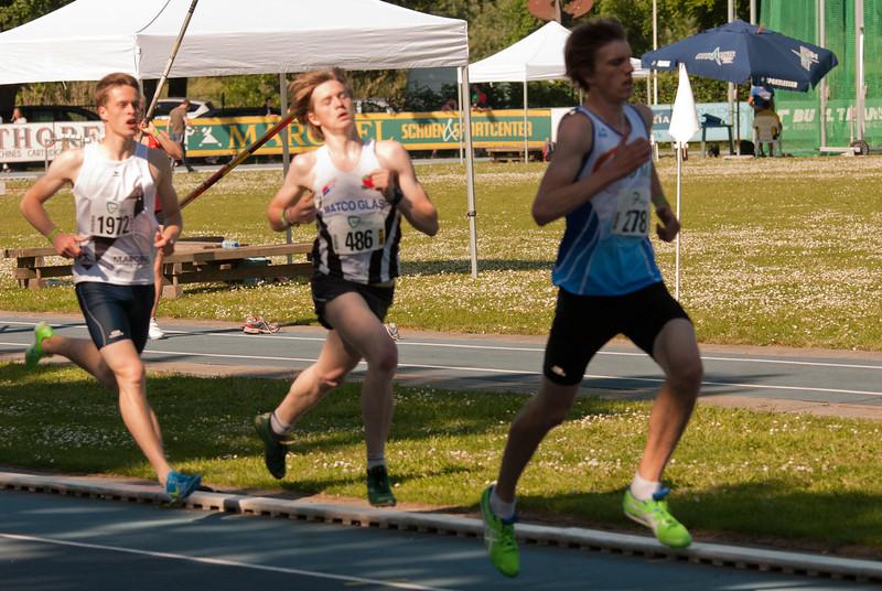 """Yngwie Vanhoucke (486) finisht in 1'58""""18 - Grote Prijs Stad Lokeren - Oost-Vlaanderen - België"""