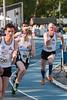 Start van de 3de reeks 800 M - Grote Prijs Stad Lokeren - Oost-Vlaanderen - België
