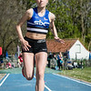 Camille Cham (AV Roeselare) goed voor zilver bij de meisjes cadetten met een sprong van 9,67 M @ Provinciaal Kampioenschap Outdoor Atletiek - SC De Lenspolder - Nieuwpoort