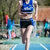 Marte Stok met en sprong van 8,25M bij de meisjes cadetten @ Provinciaal Kampioenschap Outdoor Atletiek -SC De Lensdpolder - Nieuwpoort