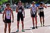 Klaar voor de start van de 800 M (4de reeks van 11) - Ifam Outdoor 2012 - Bloso Centre - Oordegem-Lede