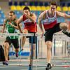 Reekswinst voor Denis Hanjoul  (60 M horden - Reeksen) @ Kampioenschap van Vlaanderen - BLOSO Topsporthal - Gent