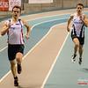 Bruggelingen Tibo Van De Sande & Massimo Renson in de reeksen 200 M @ Kampioenschap van Vlaanderen - BLOSO Topsporthal - Gent
