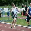 Yngwie Vanhoucke (FLAC) strandt op minder dan één meter van Belgisch kampioen op de 800 M indoor