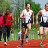 Jan Carly gestart voor de derde 100 M - Interclub Ereafdeling K.B.A.B. - Beveren<br /> <br /> Jan Carly parti pour le troisième 100 M - Intercerlces Division d'Honneur L.R.B.A. - Beveren<br /> <br /> Jan Carly starting with the third 100 M - Interclub Belgian A Teams - Beveren - Belgium<br /> <br /> Jan Carly arrancando el tercer 100 M - Interclub Equipos A Bélgica - Beveren - Bélgica