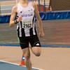 Winst voor Yngwie Vanhoucke op de 800 M  - Heat I - BLOSO Topsporthal - De Blaermeersen - Gent - Oost-Vlaanderen