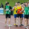 Net na de finale 100 M heren - Kampioenschap van Vlaanderen - Beveren-Waas - Oost-Vlaanderen